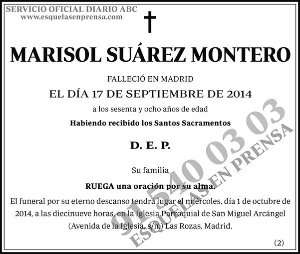 Marisol Suárez Montero